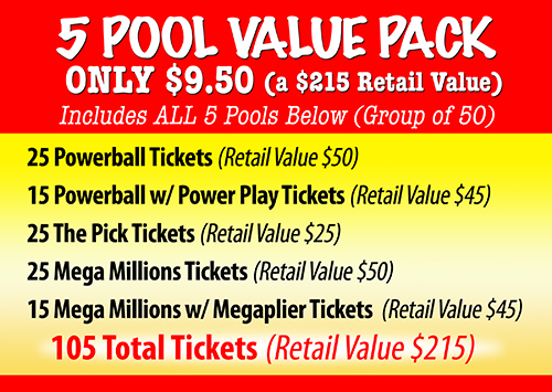 5 Pool Value Pack